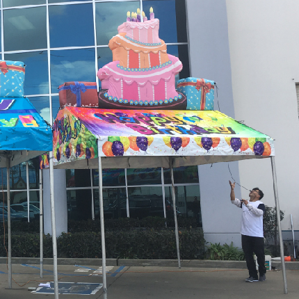 Cake-Tent-inflatable