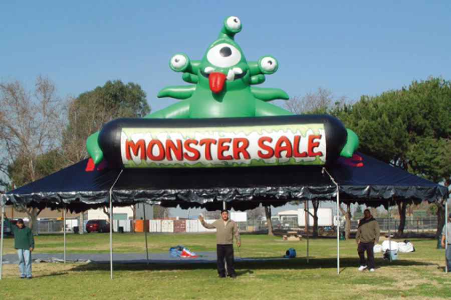 Parent-monster-tent