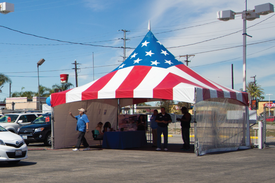 patriotic-tent-american-flag